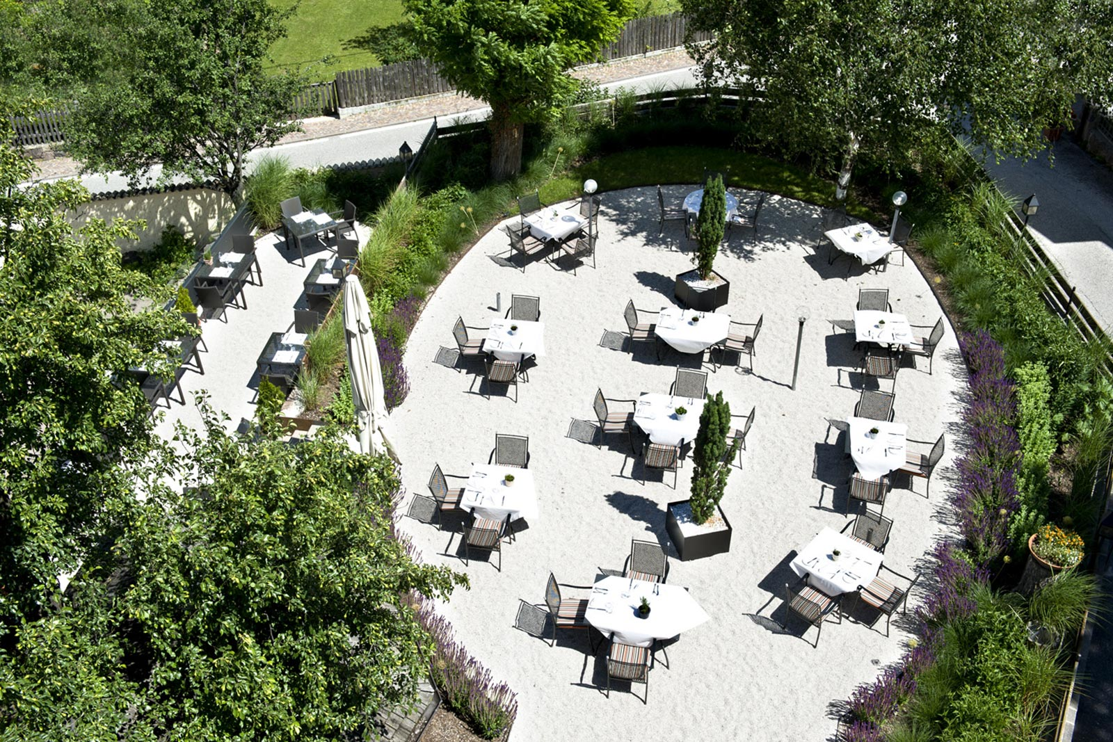 Giardino Terrazza Gartenhotel Hotel Völser Hof